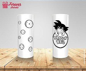 Copo Long Drink Goku e as Esferas Do Dragão
