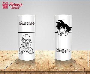 Copo Long Drink Kuririn e Goku