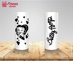 Copo Long Drink Betty Boop Corações