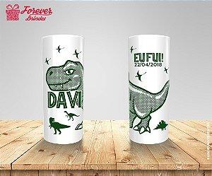 Copo Long Drink Dinossauro Eu Fui