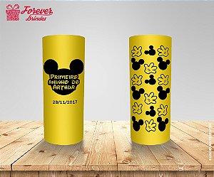 Copo Long Drink Aniversário Rosto Do Mickey