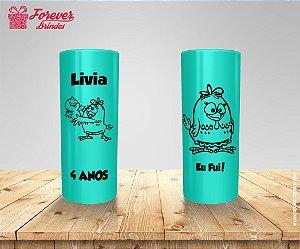 Copo Long Drink Galinha Pintadinha