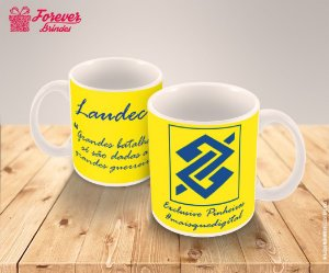 Caneca Porcelana Estampada Corporativo
