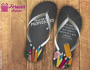 Chinelo Dia Dos Professores Frase