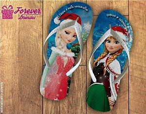Chinelo De Natal Frozen