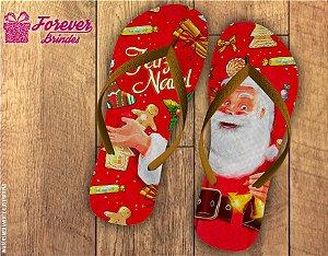Chinelo De Natal Símbolos Natalinos