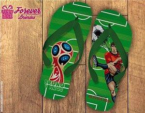 Chinelo Copa Do Mundo Jogador