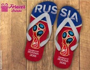 Chinelo Copa Do Mundo Russia