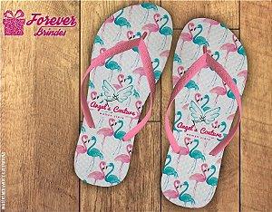 Chinelo Flamingo Empresarial