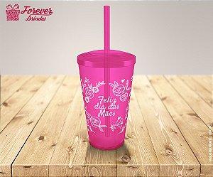 Copo Twister Dias Das Mães Floral