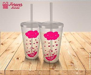 Copo Twister Festa Chuva De Amor