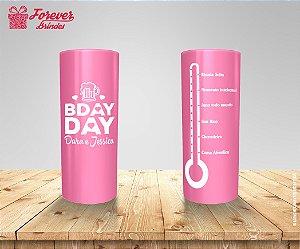Copo Long Drink Aniversário Bday