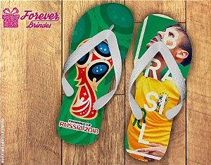 Chinelo Copa Do Mundo Seleção Brasileira