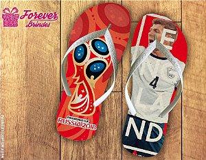 Chinelo Copa Do Mundo Seleção Inglesa