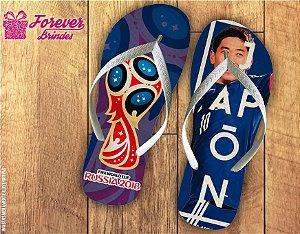 Chinelo Copa Do Mundo Seleção Japonesa