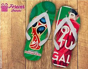 Chinelo Copa Do Mundo Seleção Portuguesa