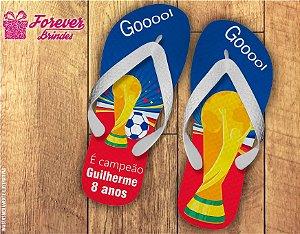 Chinelo Copa Do Mundo Russia Aniversário