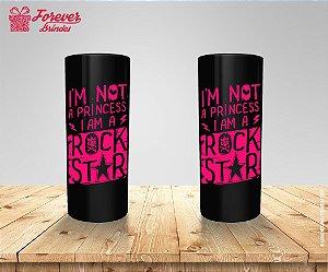 Copo Long Drink Princesa Rock Star