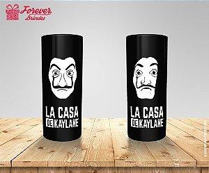Copo Long Drink 15 Anos La Casa De Papel