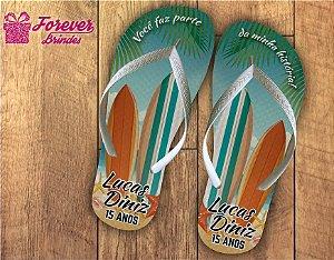 chinelo debutante surf