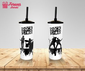 Copo Long Drink Rock Star