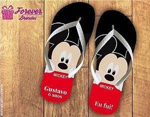 Chinelo Aniversário Mickey Eu Fui