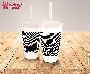 Copo Twister Tema Empresarial