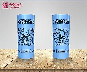 Copo Long Drink Patrulha Canina Festa De Aniversário