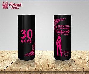 Copo Long Drink Festa De Aniversário 30 Anos