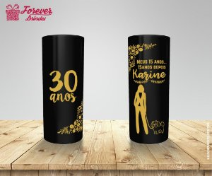 Copo Long Drink Festa De Aniversário Trintou