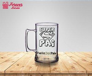 Caneca De Chopp Super Pai