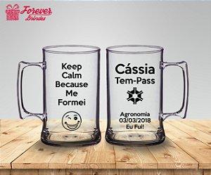 Caneca De Chopp Formatura Agronomia Keep Calm