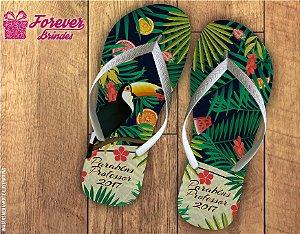 Chinelo Dia Dos Professores tropical