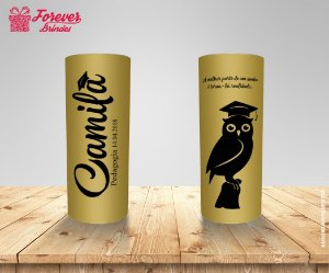 Copo Long Drink Personalizado Pedagogia
