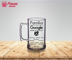 Caneca De Chopp Família Google