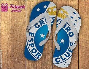 Chinelo personalizado time de futebol Cruzeiro esporte clube 68c5314d29fe5