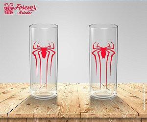 Copo Long Drink Emblema Spider Man