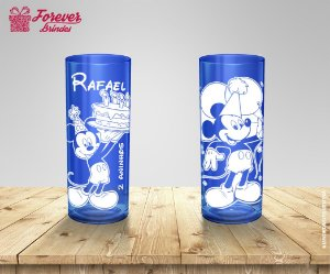 Copo Long Drink Festa Tema Mickey