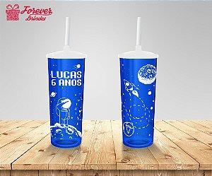 Copo Long Drink Aniversário Mundo Da Lua