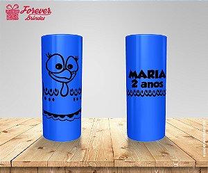Copo Long Drink Rosto Galinha Pintadinha