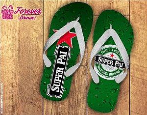 Chinelo Dia Dos Pais Heineken