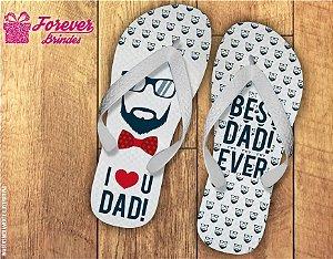 Chinelo Dia Dos Pais Eu Amo Meu Pai