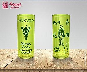 Copo Long Drink Formatura De Fisioterapia