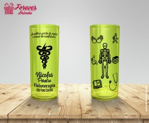 Copo Long Drink Personalizado Fisioterapia