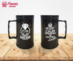 Caneca De Chopp Despedida De Solteira Game Over