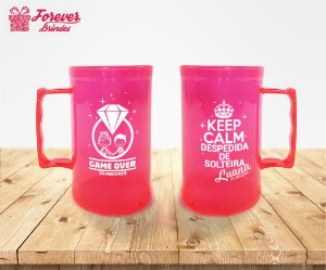 Caneca De Chopp Despedida De Solteira Keep Calm