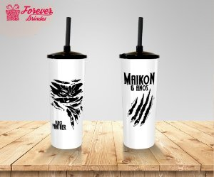 Copo Long Drink Pantera Negra Personalizado