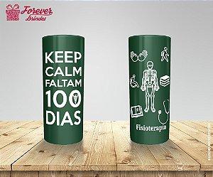 Copo Long Drink Fisioterapia Faltam 100 Dias
