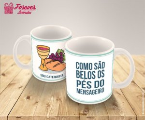 Caneca De Porcelana Dia Do Catequista