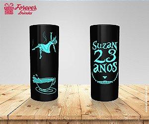 Copo Long Drink Alice No País Das Maravilhas